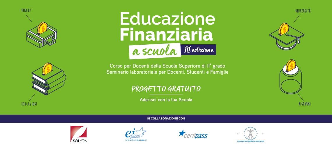 Educazione Finanziaria a Scuola III Edizione