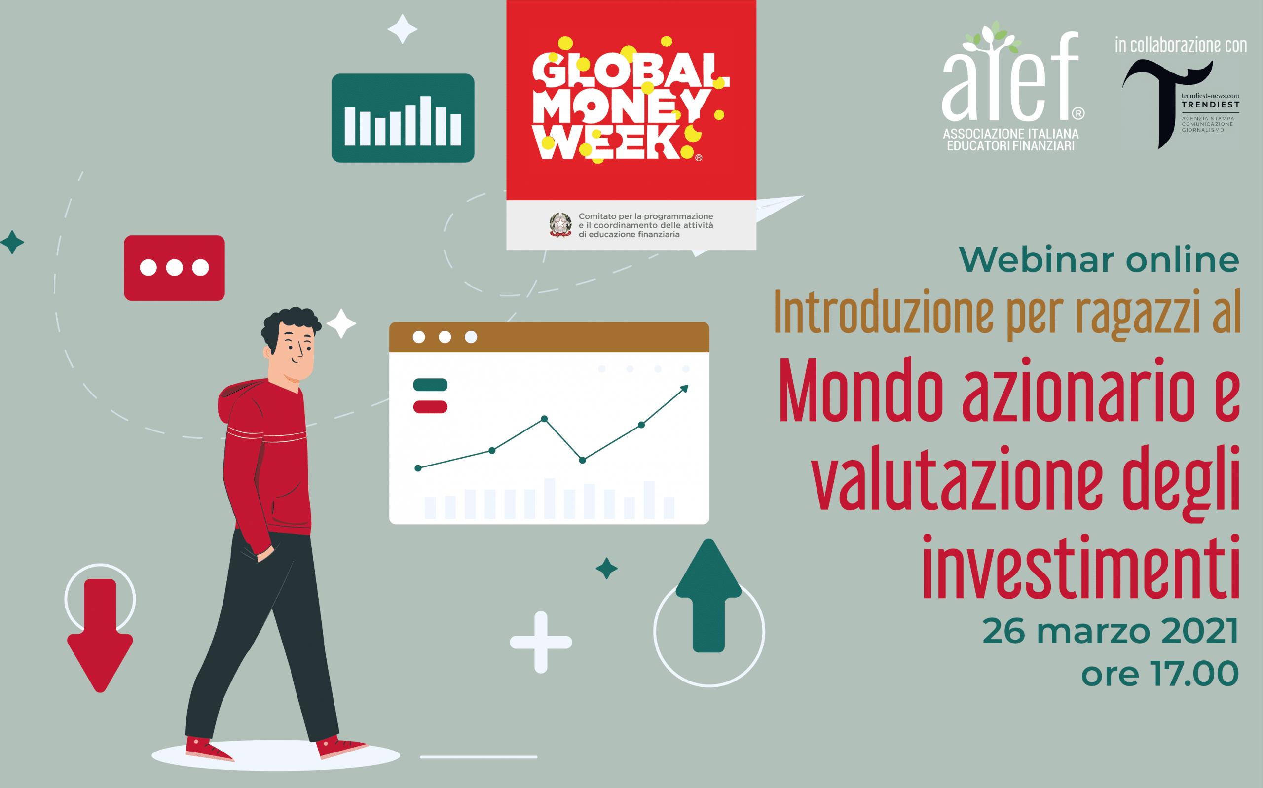 Introduzione per ragazzi - mondo azionario e valutazione degli investimenti